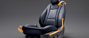 Driver's power seat