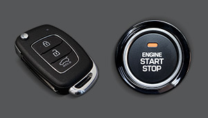 Smart key & Engine start / stop button