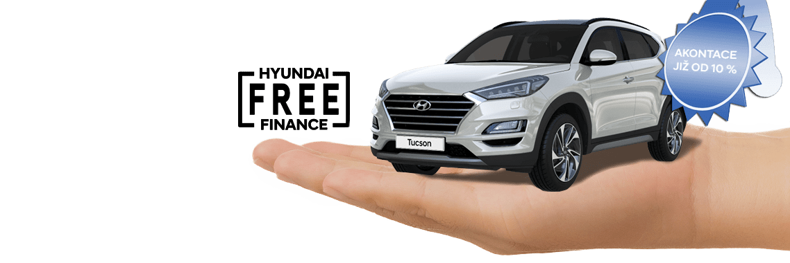 i30 and Hyundai financing Free logo