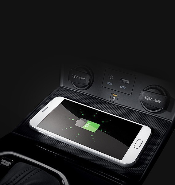 Wireless charging for smartphones