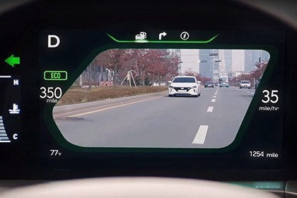 Blind-Spot View Monitor